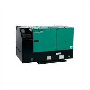 Cummins Onan 8 0hdkau 41934 8000 Watt Commercial Mobile Quiet Diesel Generator