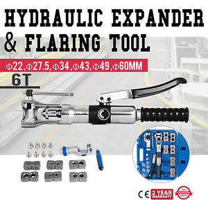Universal Hydraulic Expander And Flaring Tool 5 22 Mm 3 16 7 8 Puncher Metal
