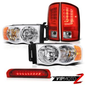 2002 2005 Dodge Ram 1500 St Taillights Headlights Roof Cargo Lamp Factory Style