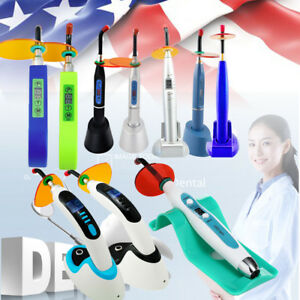 Dental 5w 10w Wireless Cordless Led Tooth Curing Light Lamp 1500 1800 2000mw Us