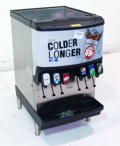 Used Manitowoc Sv 150 Counter Top 6 Head Soda Ice Dispenser