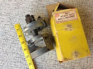 Vintage Mac Tools Heavy Duty Ridge Reamer Model Rr1 In Box Cylinder Bore Us Made