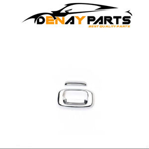For Sierra silverado Chrome Trim Tailgate And Rear Handle Cover 400017