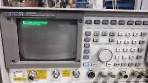 Hp Hewlett Packard Spectrum Analyzer 8920b Option 001 004 102 051