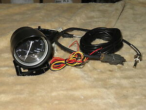 Blitz Racing Meter Sd Oil Water Temp Gauge S13 S14 R32 Gtr Wrx Evo Dsm Rx7 Mr2