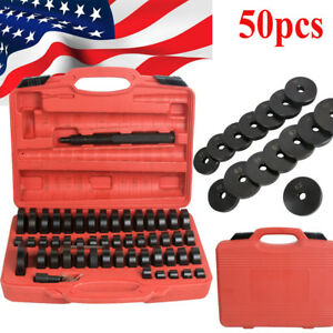 Usa 50pc Bearing Seal Driver Tool Kit Custom Bushing Bearing Hydraulic Press