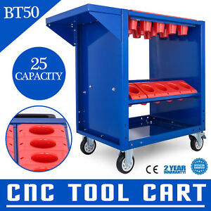 Bt50 Cnc Tool Trolley Cart Holders Toolscoot Utility Service Cart Super Scoot