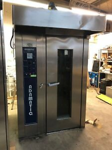 Hobart Adamatic Cro1g Natural Gas Single Rack Bakery Baking Oven Clean Working