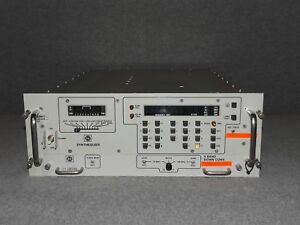 Sts Satcom Sc 1100 Frequency Synthesizer E29364 X band Down Converter