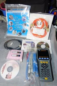 Ideal Signaltek Fo Network Cable Tester W o Remote Unit W o New Accessories