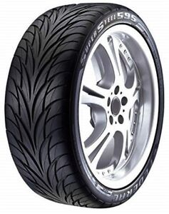 2 New 225 40zr18 Federal Ss 595 All Season Uhp Tires 40 18 R18 2254018 40r