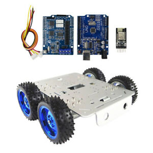 4wd Diy Smart Robot Chassis Wifi Driver Control Kit For Arduino