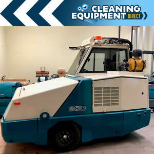 Tennant 800 Industrial Rider Sweeper Refurbished