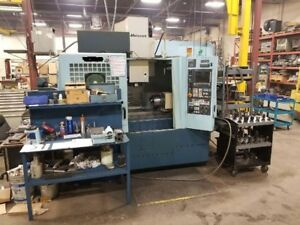 Matsuura V Plus 800 New 2002 Low Hours Tooling Included Tsudakoma 4th Axis