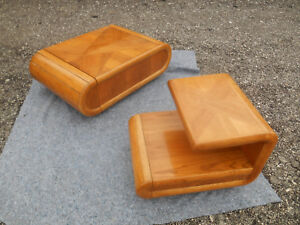 Vintage Mid Century Modern Coffee Table And End Table Matching Set