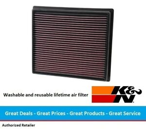 K n Replacement Air Filter For 14 19 Toyota Tacoma 3 5l And Tundra 5 7l 4 6l