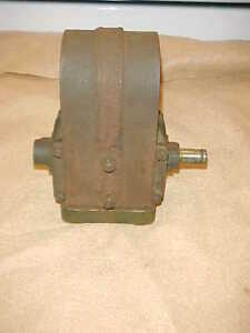 2 5 Hp United Associated Magneto 4 Bolt Hit Miss Gas Engine Brass Body hot