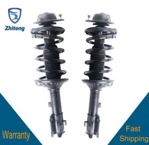 Fit For 2009 2014 Acura Tl Rear Right Left 2 Complete Quick Strut Assembly Full