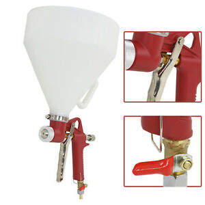 4x Air Hopper Spray Gun Paint Texture Tool Drywall Wall Painting Sprayer