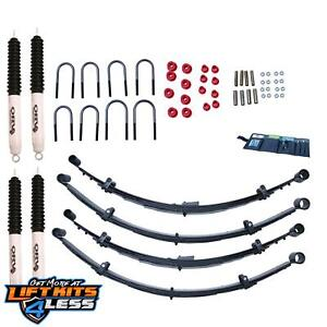 Rugged Ridge 18415 20 2 5 Suspension Lift Kit For 87 1995 Jeep yj 2wd 4wd