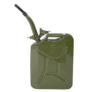 Jerry Can Gasoline Gas Fuel Can Emergency 5 Gal 20l Gas Caddy Tank Backup