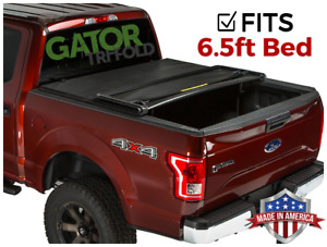 Gator Etx Tri Fold Fits 2015 2019 Ford F150 6 5 Ft Tonneau Bed Cover