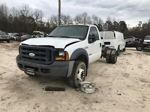 2006 Ford F450 F550 2wd Front Straight Axle Assembly Coil Spring 10 Lug Set Up