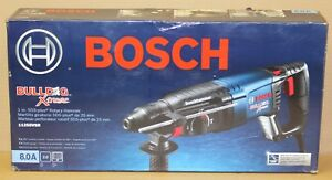 Bosch Model 11255vsr 1 In Sds plus Bulldog Xtreme Rotary Hammer 8 0a New
