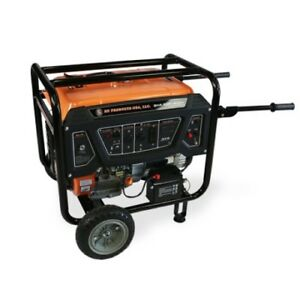 Bn Products Gas Generator Bng6500 6500w Portable Electric Start Gfci Plugs