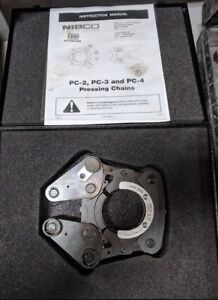 Nibco Ksp30 2 5 Pressing Chain With Steel Carrying Case