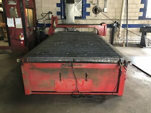 Dynatorch Xls 5 X 10 Cnc Plasma Cutter W Hypertherm Powermax 85 Power Source