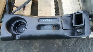 00 01 02 Camaro Ss Z28 Auto Top Upper Shifter Center Console Used Trans Am Flaws