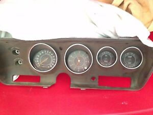 69 73 Charger Rt Oem Instrument Cluster