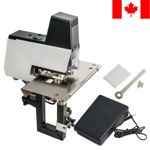 Electric Auto Rapid Stapler Flat And Saddle Binder Machine Book Binding Machine