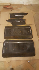 1968 Chevy Impala Coupe Door Panels Quarter Window Free U s Shipping