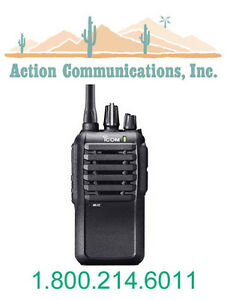New Icom Ic f3001 03 rc Vhf 136 174 Mhz 5 Watt 16 Channel Two Way Radio