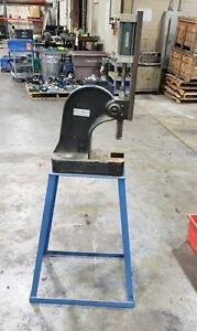 Pneumatic 2 Ton Dayton Arbor Press 4z329a With Stand 6736sr