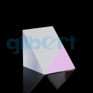 50x50x50mm Optical Glass Triangular Lsosceles K9 Prism With Reflecting Film