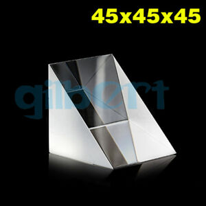 45x45x45cm Optical Glass Prisms Equilateral Triangle Right Angle K9 Prisms Lens