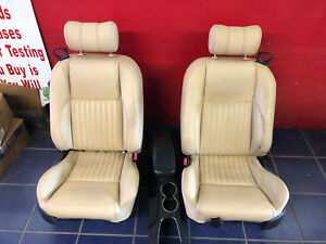 2002 2003 2004 2005 Ford Thunderbird Tan Leather Seats