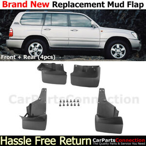 Splash Guards For 1998 2007 Toyota Land Cruiser Front Rear Mudguards Mudflap Set