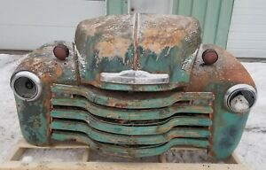 1947 1953 Chevy Truck Front Clip Fenders Hood Grill Shipping Included