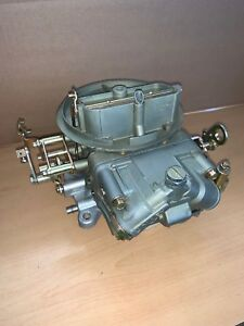 Holley 2300 Carburetor List 4412 S 500cfm W Manual Choke Restored
