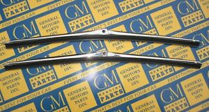 1968 1974 Gm A Body 16 Pin Type Windshield Wiper Blades Pair