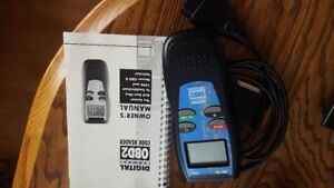 Innova Obd2 Code Reader And Manual Used Once