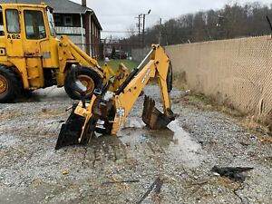 Woods Groundmaster Bh9000 Backhoe Attachment For Skid Steer Loader