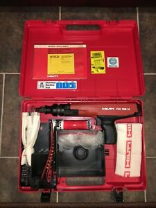 Hilti Nail Gun Dx36m W 1000 27 Cal Cartridges