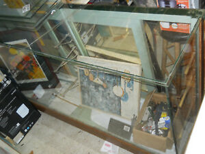 Antique Glass Display Case From Old Country Store