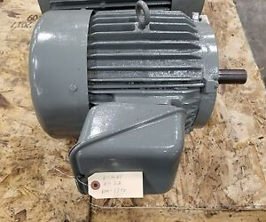 Electric Motor 10 20 Hp 3 Phase 480v 3266sr
