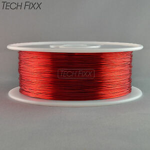 Magnet Wire 23 Gauge Awg Enameled Copper 2200 Feet Tattoo Coil Winding 155c Red